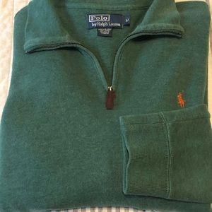 Polo Ralph Lauren Men's Half Zip Pullover Sweater
